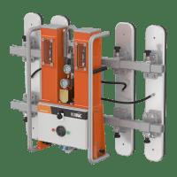 VIAVAC CladBoy compact 4Flex voor het plaatsen van sandwich dak- en wandpanelen